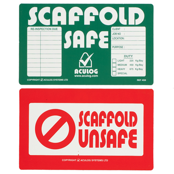 scaffold safe 4G9 card